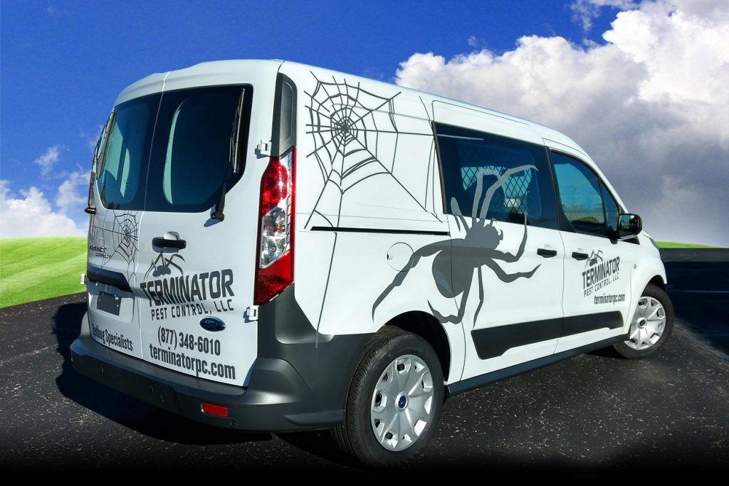 Beaver Dam Ford >> Terminator Pest Control, LLC Ford Transit Connect Van – Design Advertising   920.885.3100 ...