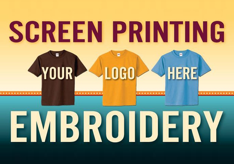 10ec4a55f There is no BETTER way to get your business name in the public eye than by  wearing it! Design Advertising offers screen printed and embroidered  T-shirts, ...